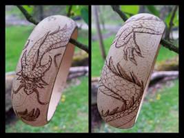 Dragon Bangle Bracelet