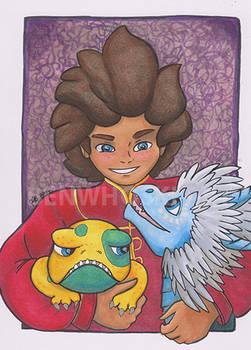 Ezran kaj Amikoj/Ezran and Friends