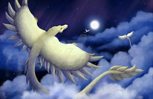 Lunaj Vivernoj/Lunar Wyverns