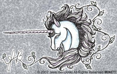 Lineograph-like Unicorn