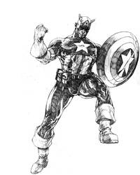 captain america by acts2028
