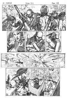 sample pages for x force