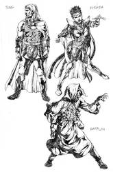 dragonlance sketch by acts2028