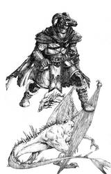 dragonlance sketch2 by acts2028