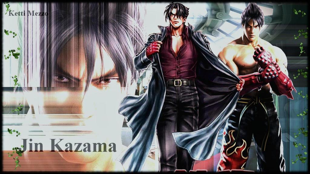 Jin Kazama wallpaper june 2 by ScionChibi