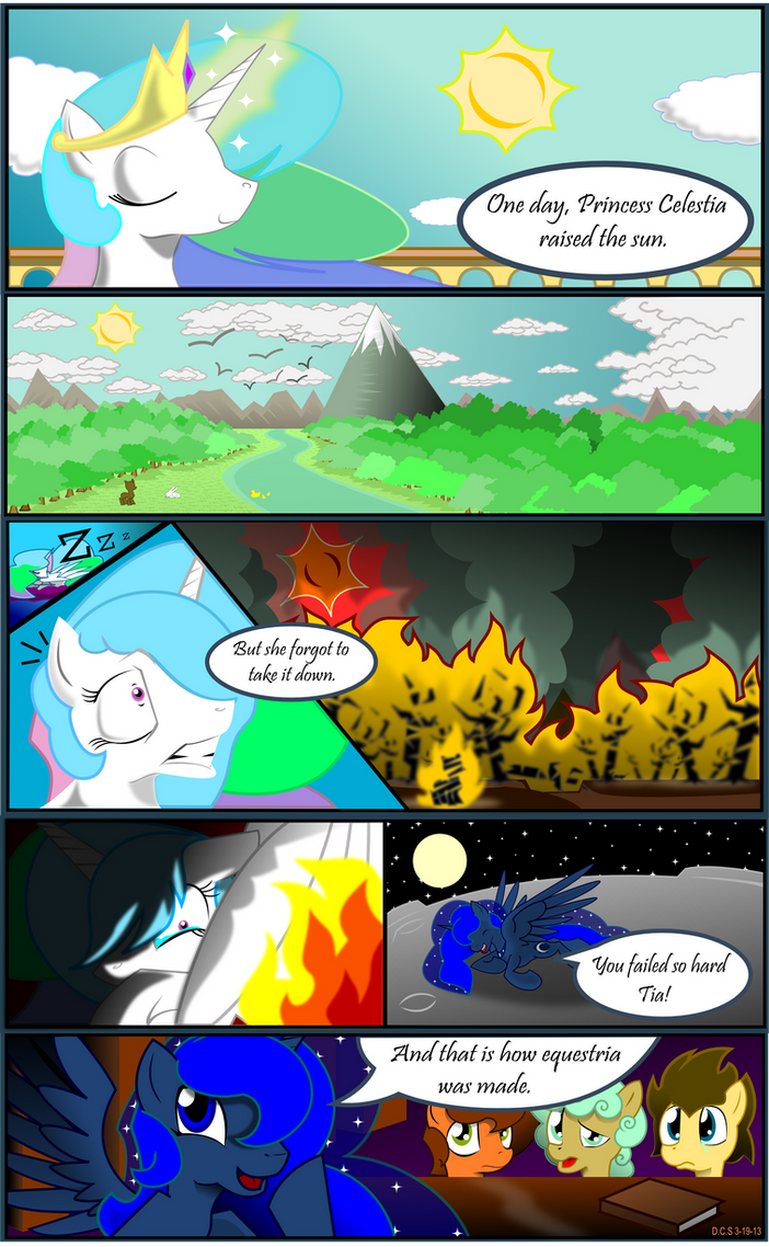 Celestia's Biggest Fail by Drawing-elite-9