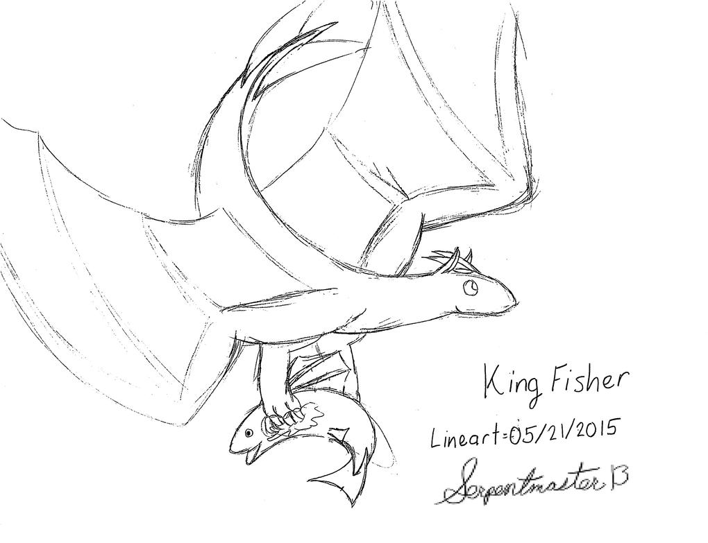 Line Drawing Kingfisher : Kingfisher sketch lineart by foger on deviantart