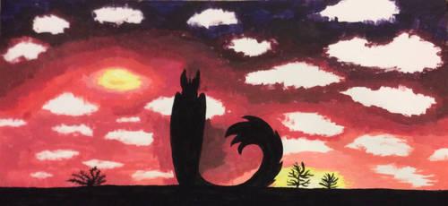 Sunset Siloette by foger3