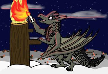 Firelight Night by foger3