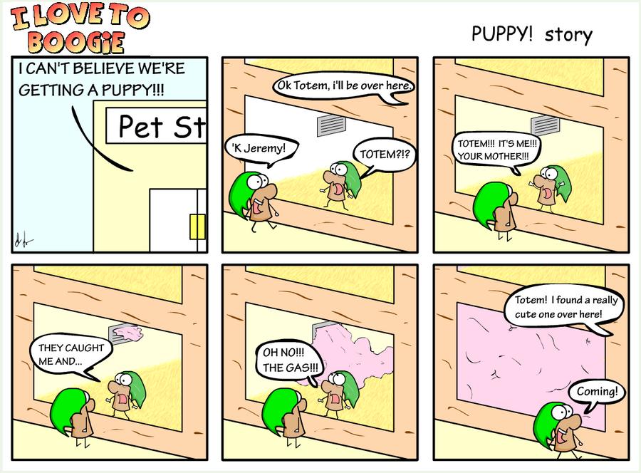 ILtB - PUPPY story pg 1 by Headsmellspuppys