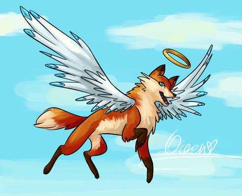 Angel fox contest entry