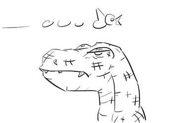 Perplexe Dino by Flammort19