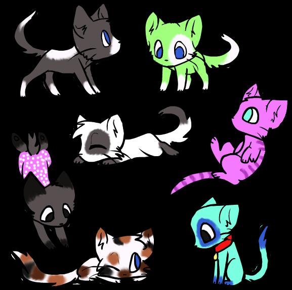 Kats Adoptables by MsAwkwardCanadian