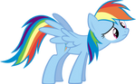 Confused Rainbow Dash