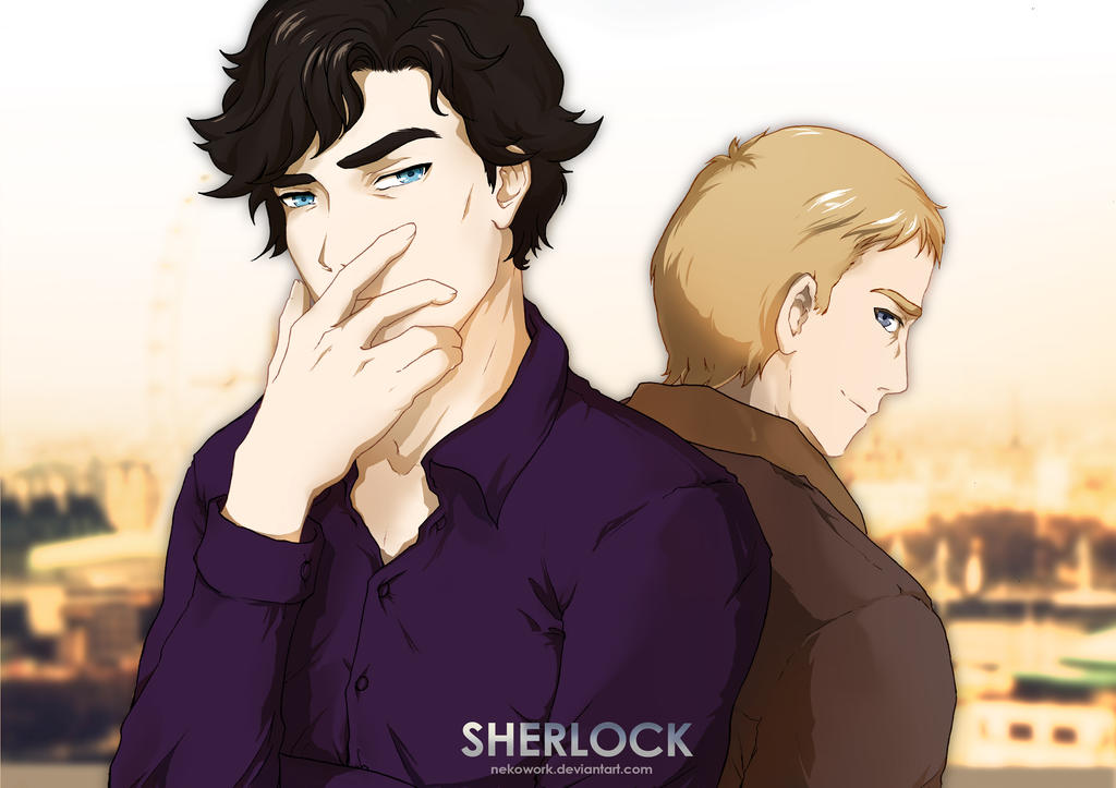 Sherlock and John by NekoWork