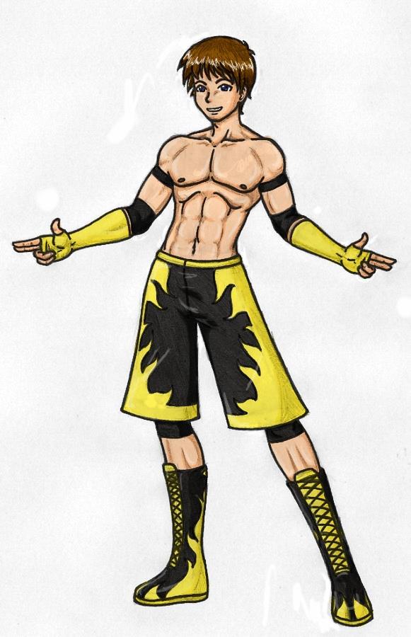 Xcross Wrestling Attire Color By X Cross On Deviantart