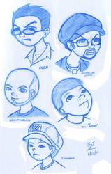 Internet Personalities... by X-Cross