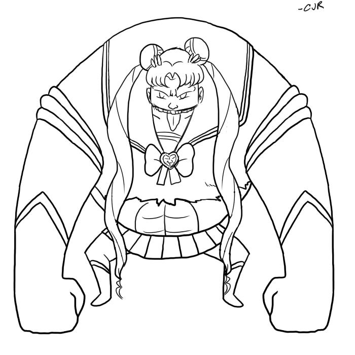 Sailor Moon Tank by X-Cross