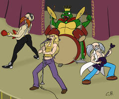 Commission: VG 80s Band