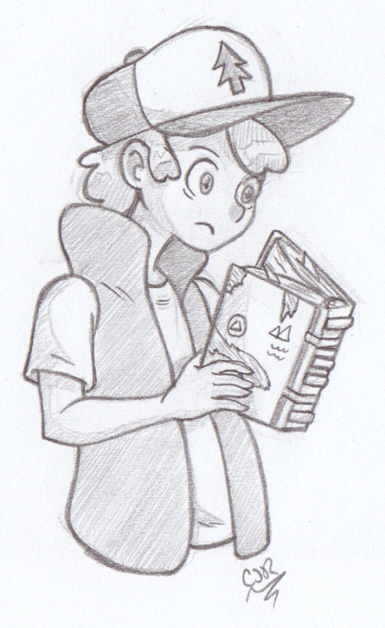Dipper Pines by X-Cross