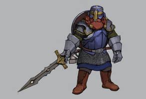 Commision: Dwarf hero 2 by Shagan-fury