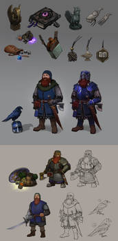 Commision: character designs
