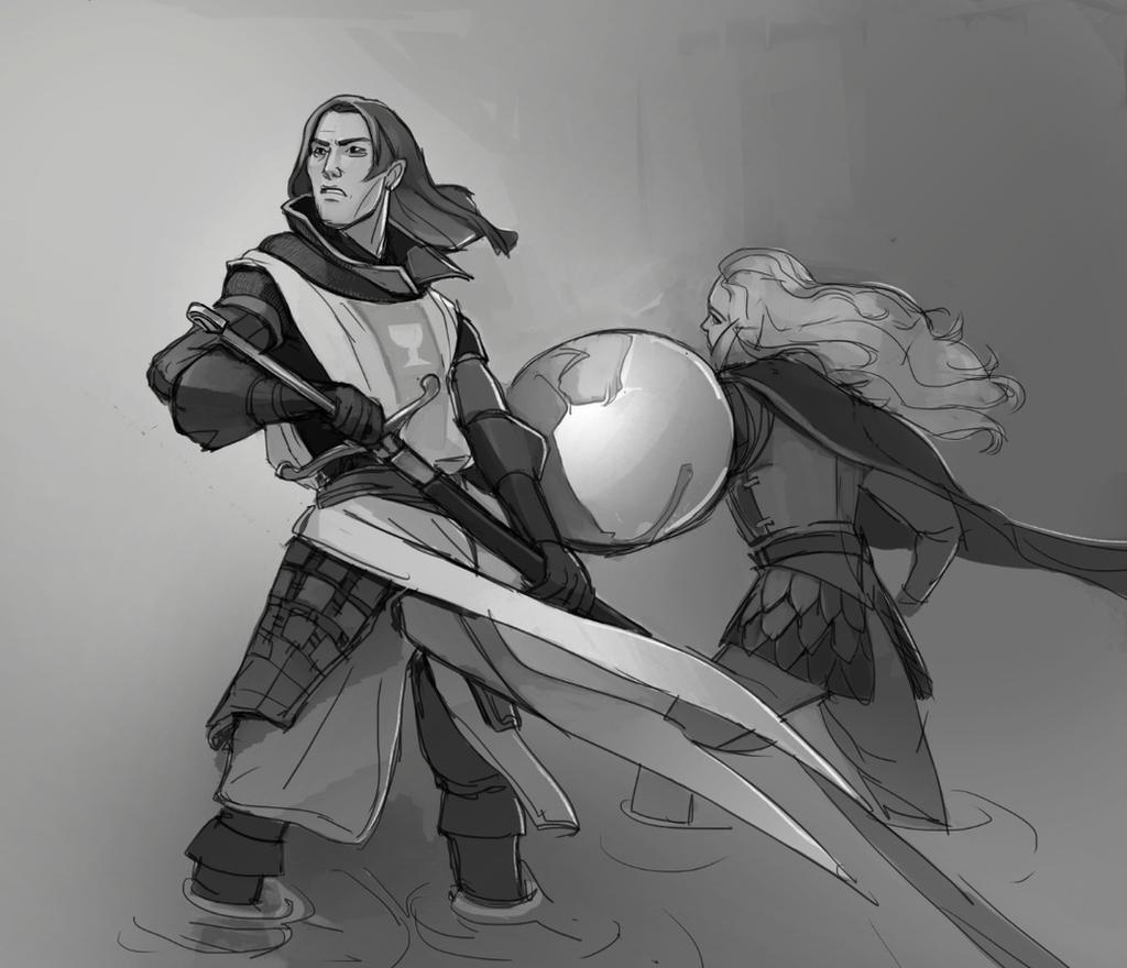 Marcus and Gretha by Shagan-fury