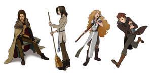 Character sketches by Shagan-fury