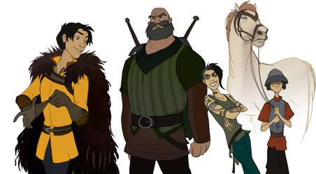 Mercenaries by Shagan-fury