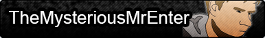 TheMysteriousMrEnter Fan Button by strawberryowl96