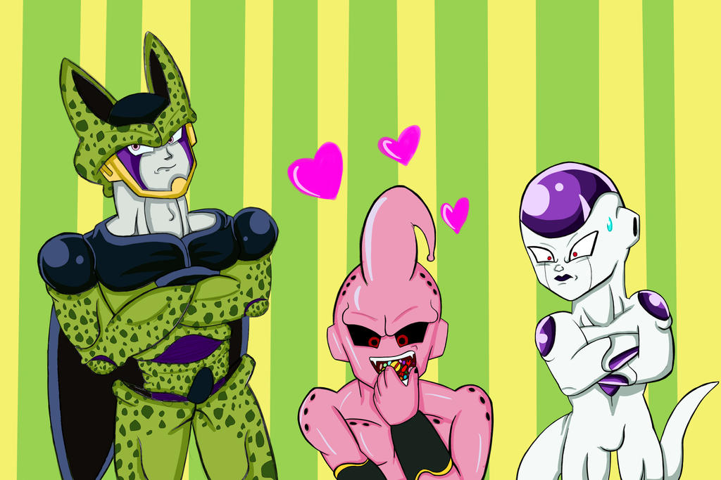 Cell Freezer y Majin Buu images