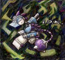 Wierdbot IDK by shadowspark