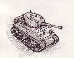 Little Tank by shadowspark