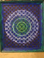 Checkered Ripples by shadowspark