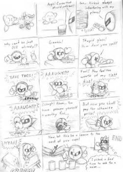 meta knight comic