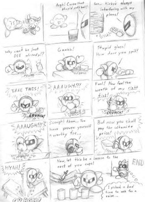 meta knight comic by shadowspark