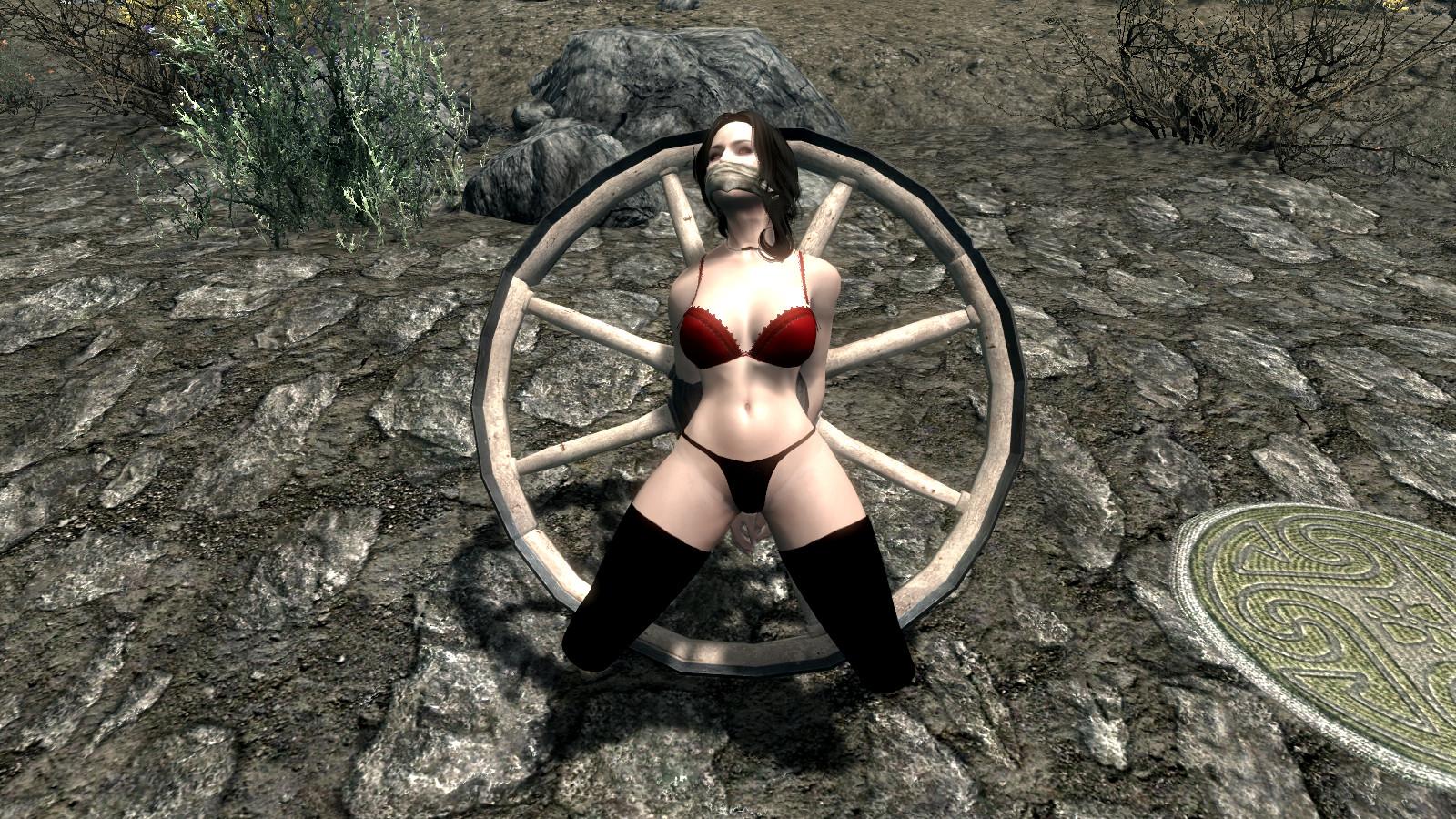 Oblivion bondage sex hentai image