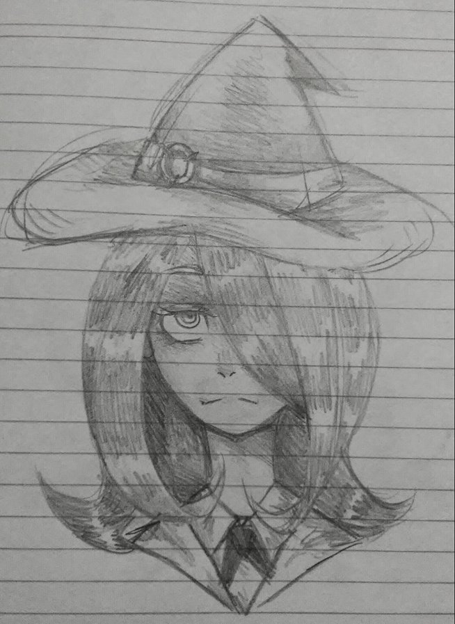 Little Witch Academia: Sucy by Kianotyan