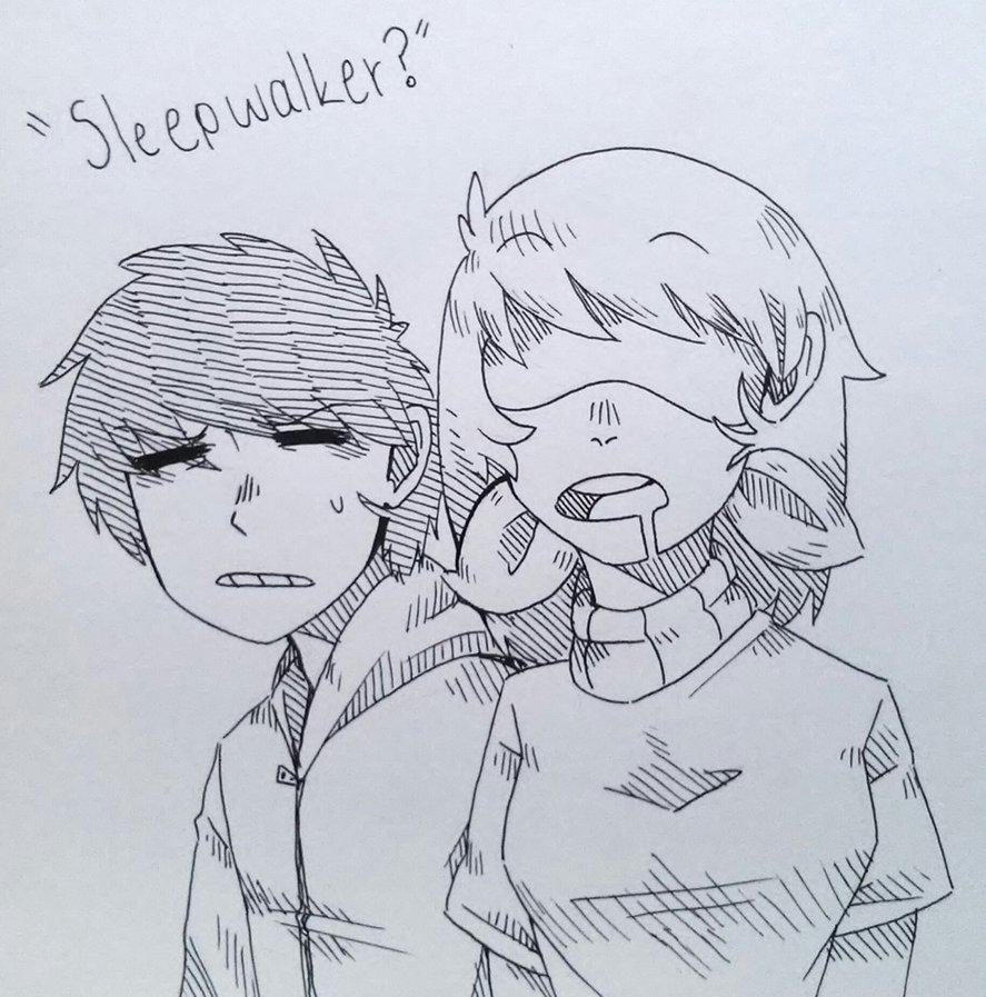 Sleepwalker? by Kianotyan