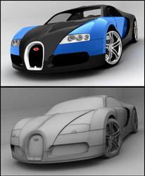 Bugatti Veyron by Tom-3D
