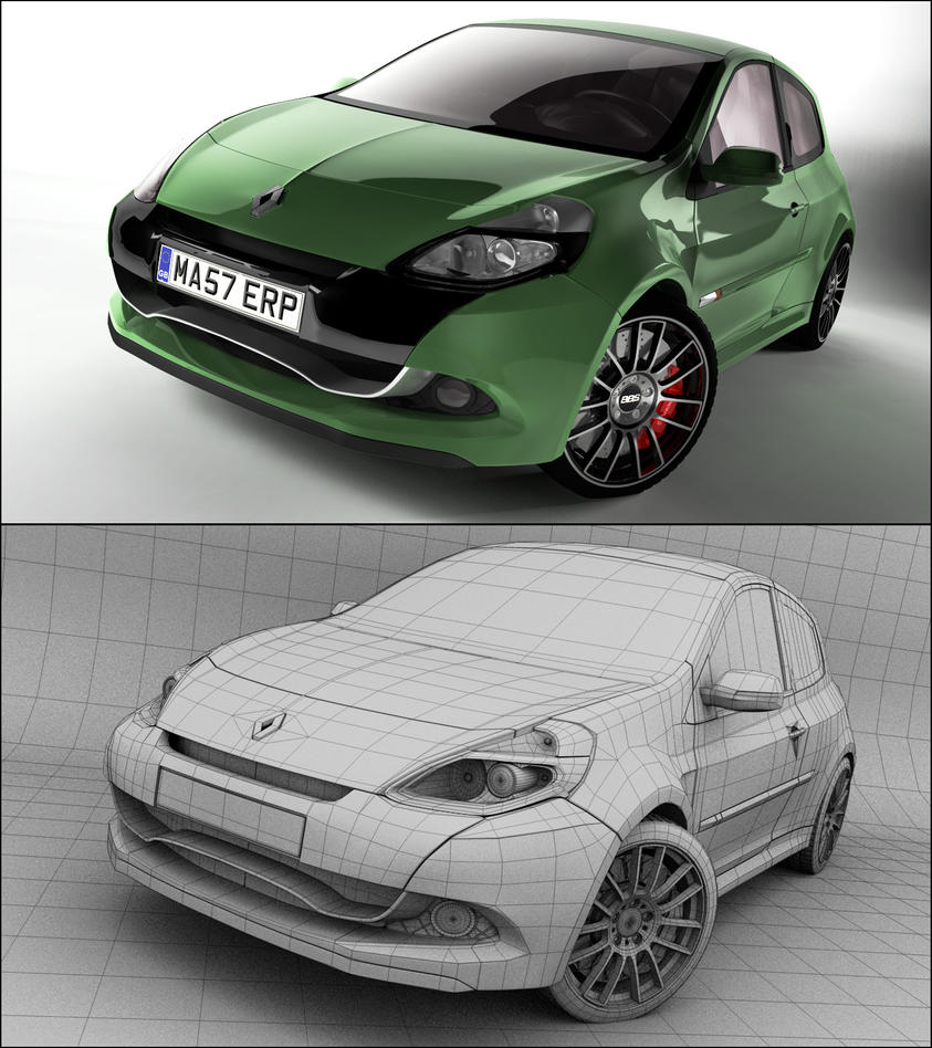 Renault Clio Sport by *Tom-3D