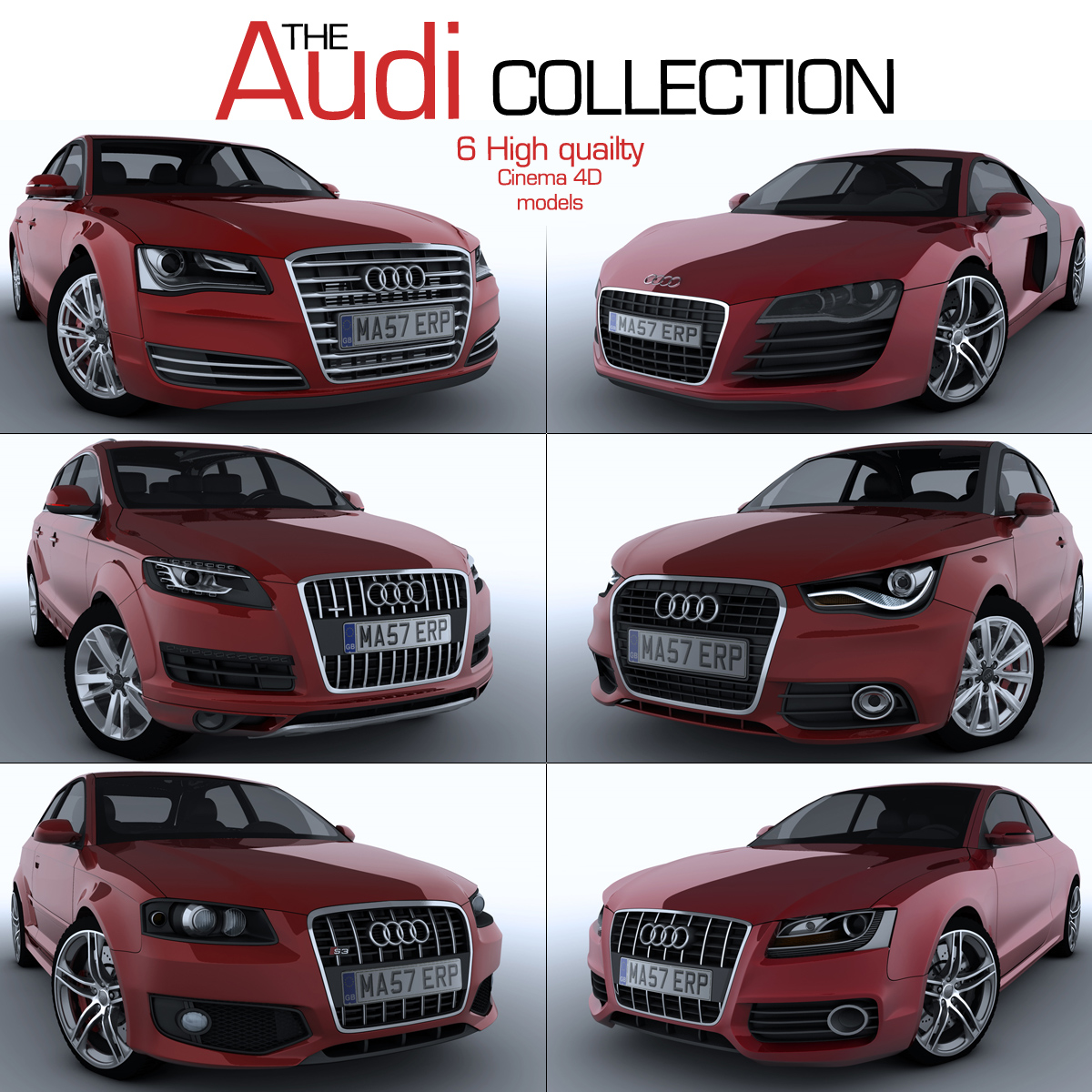 The Audi Collection By TomD On DeviantArt - Audi collection