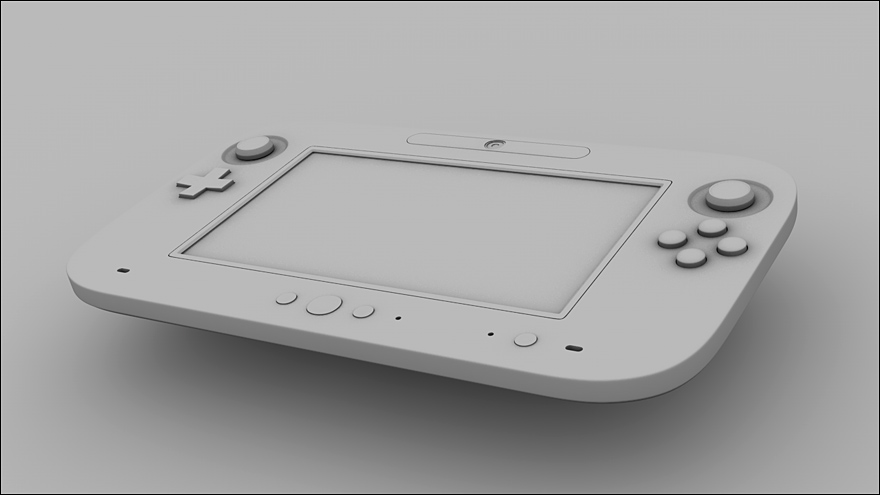 Wii U Controller by Tom-3D