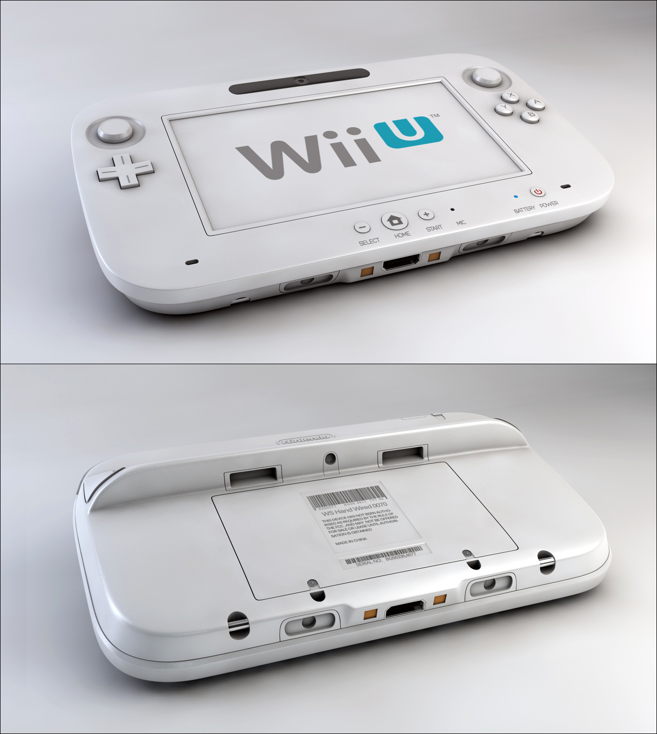 Wii U Remote by Tom-3D