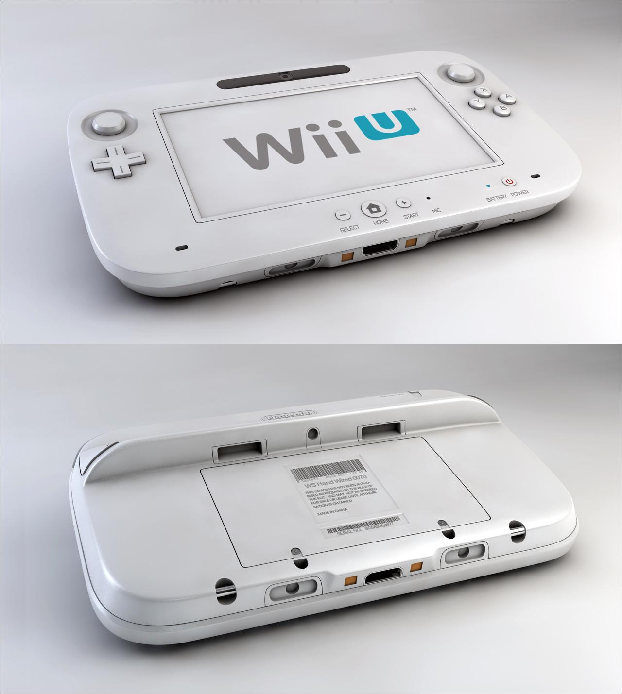 Wii U Remote by Tom-3D