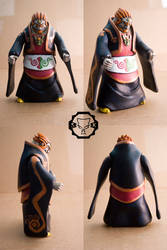 Ganon custom action figure by SomaKun