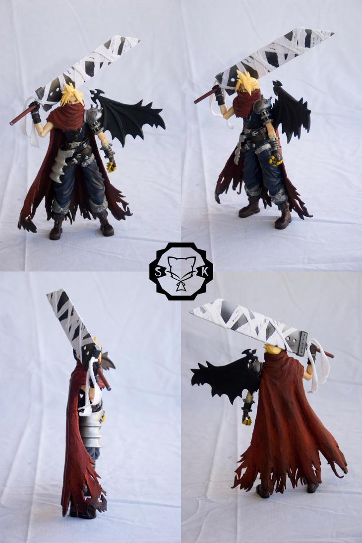custom KH1 Cloud action figure by SomaKun