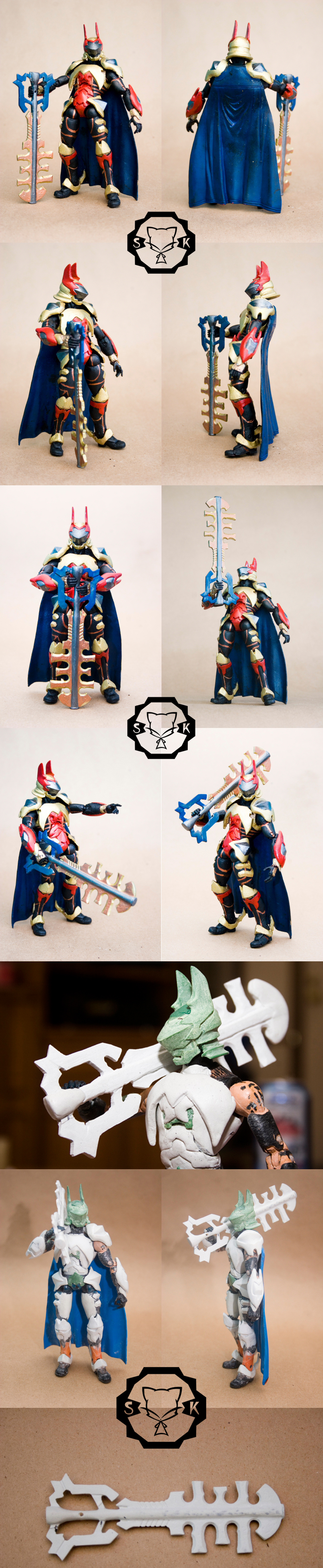KH Terra custom poseable fig by SomaKun