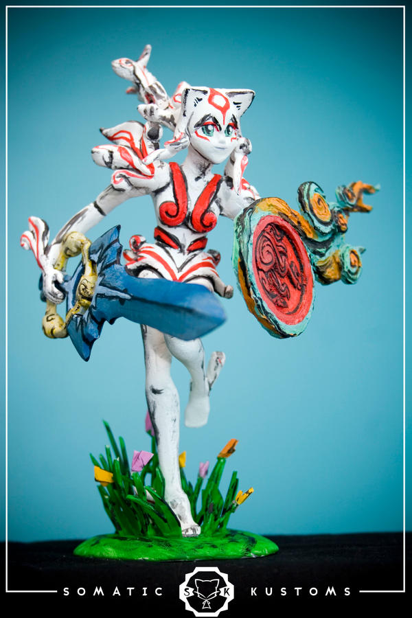 Amaterasu, the warrior by SomaKun