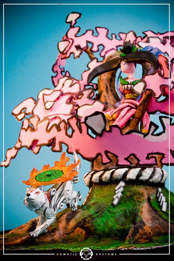 Amaterasu, Sakuya and Sapling by SomaKun